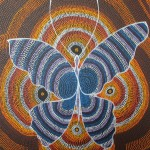 Butterfly blue orange13