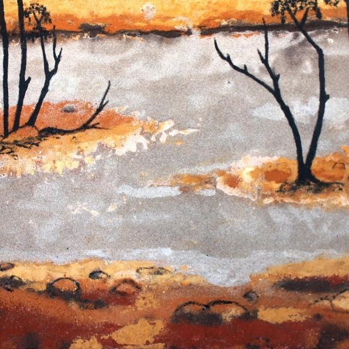 Tanya's Sand Painting Watson Taylor Lake 6