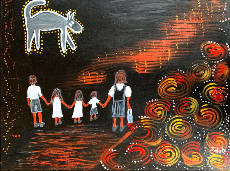 O Jaluka Rosalee Quinlin The Ghost Dog of Nulla Nulla Creek for web